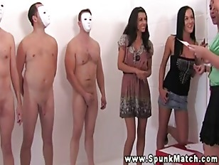 Sluts love their masked men wi