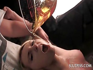 Sex slave trained to piss drin