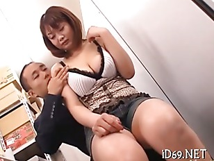 Asian vagina is nailed