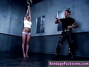 Tied dirty bondage bitch whipp