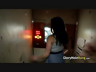 Glory-Hole In Public-Restroom