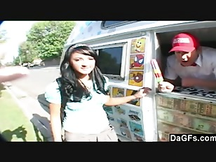 Teen seduced and fucked by the icecream man
