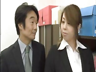 Picture Japanese Office Secretary Getting Down
