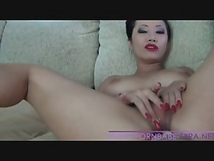 Hot Asian Amateur PornbabeTyra gets fingered