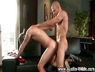 Twink receives hard cock