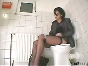 Masturbation on the toilet