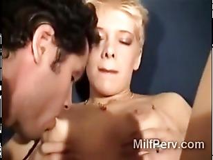 Very lustful mature blonde bit