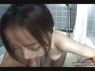 Picture Japanese Babe Reo Matsuzaka Gulps A Stiff Di...