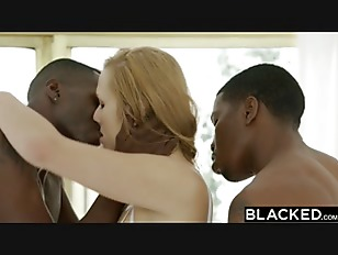 Picture BLACKED Wife Layna Landry First Interracial...
