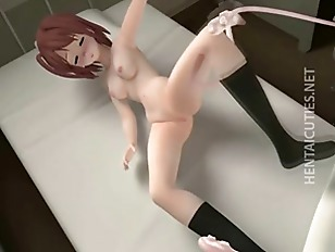 3D hentai minx fucking long tentacles