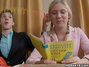 Пъяную русскую телку ебут