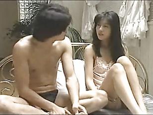 Hikari fucked in bed