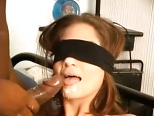 Picture Sexy Young Girl Blindfolded