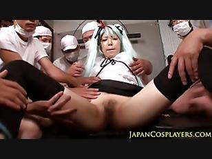 Picture Asian Cosplay Cutie Hatsune Miku In Gangbang