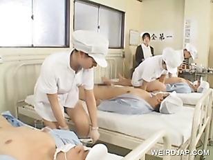 Japanese nurses fucking patien