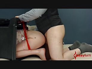 Young Goth gets brutal anal pu