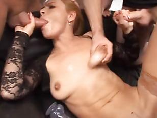 Picture Skinny Gangbang Slut Loves Big Dicks