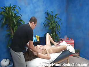 Picture Hot Amateur Seduced In Massage Room