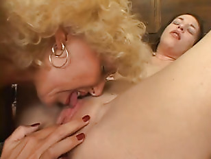 old blond granny fucking with
