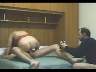 Husband watching wife with you