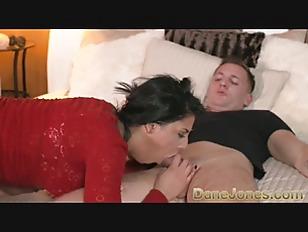 DaneJones Feisty shaved pussy babe enjoys passionate fucking