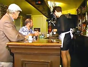 waitress gang bang