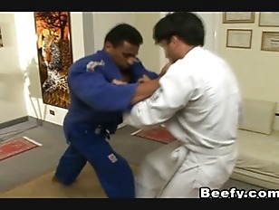 Karate Master Fuck His Beefy S