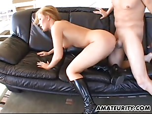 Anal threesome with double pen