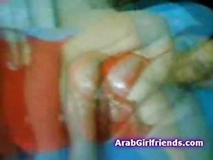 Horny amateur Arab couple on h