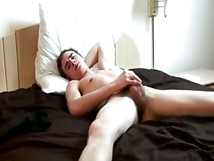 Hot elder loves solo cumshot