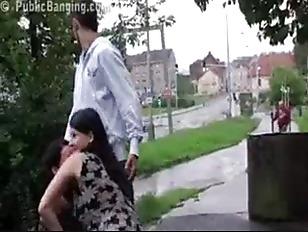 Picture Risky Public Sex Pregnant Two Girl Threesome...