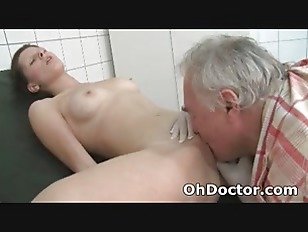 Picture Old Man Dirty Doctor Gets His Oral Fix For T...