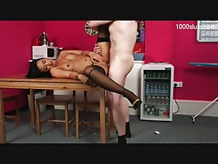 Picture Hot Brunette Get Fuck On Table