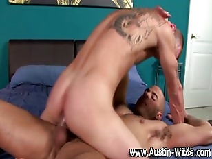 Naughty gay pornstar Austin Wi