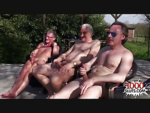 Picture Horny Chick Outdoor Gangbang Play