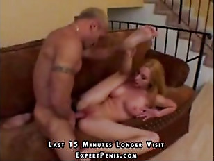 Blonde with incredible tits pounded