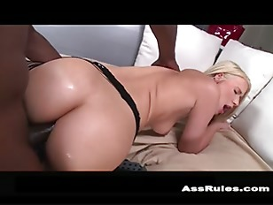 Picture Big White Ass Anal Fucked By Black Dick P4