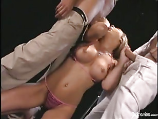Picture Hot Blonde Threesome