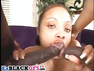 Babe Fucks Two Rods