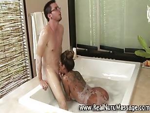 Hot asian fetish masseuse babe