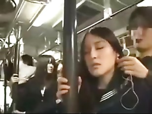 Chinese girl fucked on train