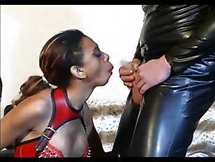 Master doing a black slave gir