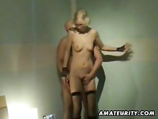 Sexy blonde ex girlfriend home