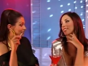 Jelena and Aria dance naked to