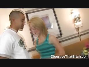 Picture Disgrace That Bitch - Slut Gets A Rough Good...