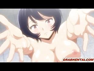 Cute hentai coed hot wetpussy poking