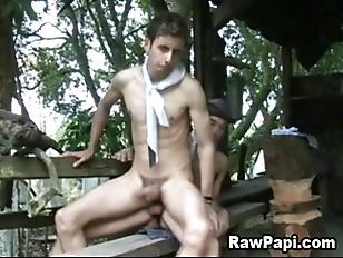 Latino Men Get His Tight Ass F