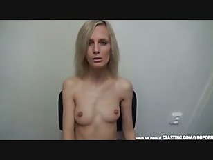 Picture Skinny Czech Blonde At Casting