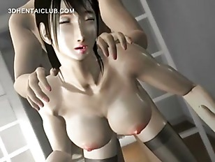Sexy hentai girl in stockings