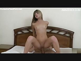 Picture Blonde Young Girl 18+ Home Alone